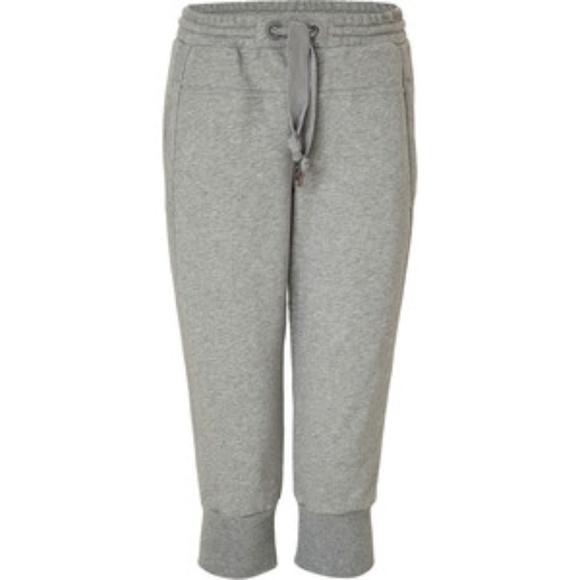 hot sale arriving hot sale Adidas Stella McCartney Gray Capri Sweatpants